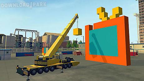 construction and crane simulator 2017