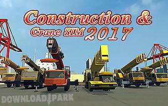 Construction and crane simulator..