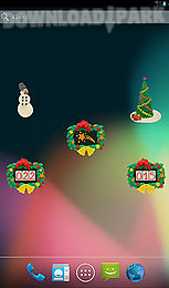km christmas countdown widgets