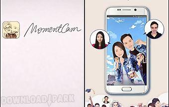 Momentcam: cartoons and stickers