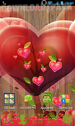 fabulous hearts launcher theme