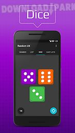 Random number generator Android App free download in Apk
