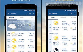 Weather and radar - wetter.com