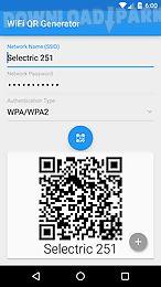 Wifi qr code generator Android App free download in Apk