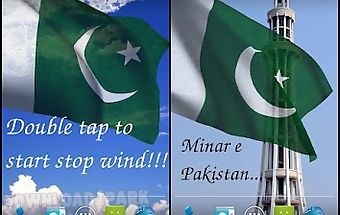 3d pakistan flag lwp