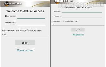 Abc ad sales – all access app