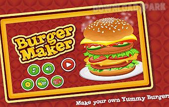 Burger maker : cooking game
