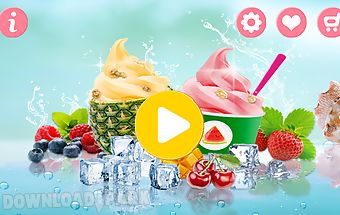 Ice frozen yogurt maker