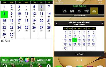 Islamic calendar & prayer time