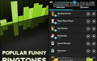 Popular funny ringtones