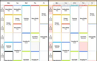 Timetable (simple)