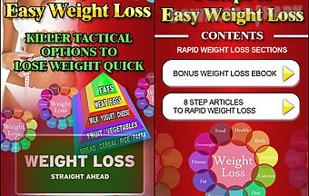 8 steps to easy weight loss