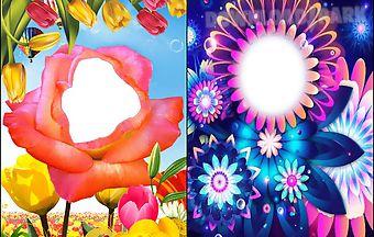 Flower photo frame imges