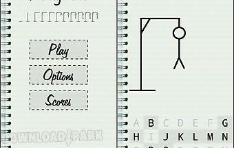 Hangman classic word game