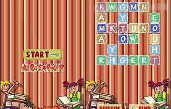 Kid abc pair game