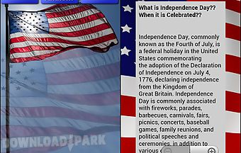 The usa independence day 4th jul..