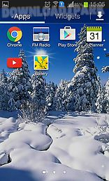winter: cold sun