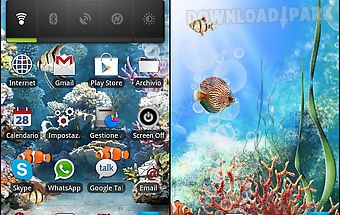 Acquarium live wallpaper