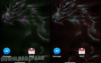 Color dragon live wallpaper