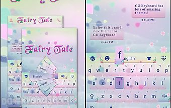 Fairy tale go keyboard theme