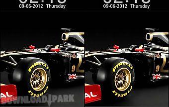 Lotus car go locker theme