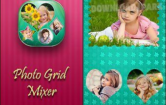 Photo grid mixer