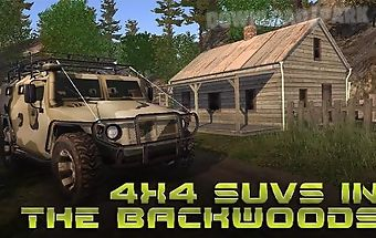 4x4 suvs in the backwoods