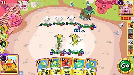 adventure time: card wars kingdom