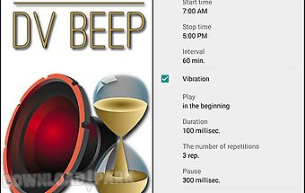 Speaking clock: dv beep