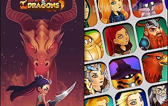Taps and dragons: idle heroes