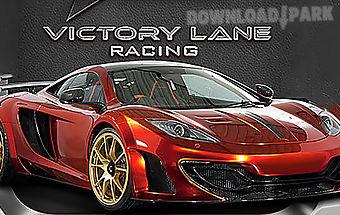 Victory lane racing