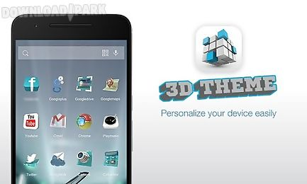 3d theme for launcher