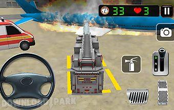 Airport ambulance simulation