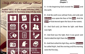Holy bible the living word