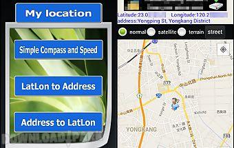 Location address finder