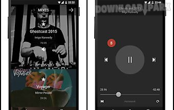 Mixes music player