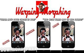 Warping morphing