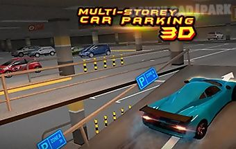 Multi-storey car parking 3d