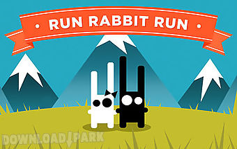 Run rabbit run: platformer