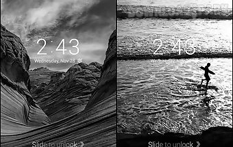 Black and white 2 dodol theme