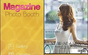 Magazine photo booth