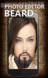 photo editor beard