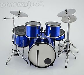 real playing drums