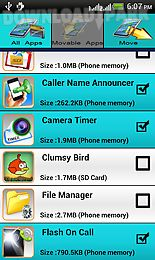 App 2 sd card Android App free download in Apk