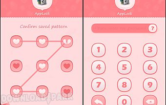 Applock theme pink
