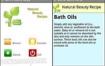 Natural beauty recipe