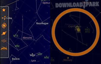Sky map Android Anwendung Kostenlose Herunterladen in Apk Sky Maps Android on