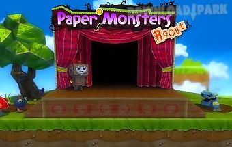 Paper monsters: recut
