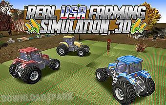 Real usa farming simulation 3d