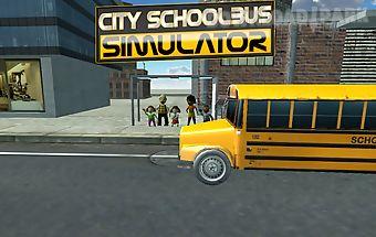 3d schoolbus driving simulator
